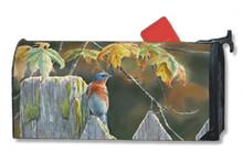 Garden Gate Bluebird MailWrap