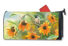 Sunflower Chickadee MailWrap