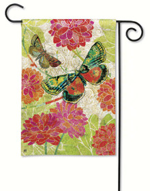 Boutique Butterflies Garden Flag