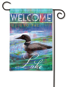 Loon Lake Garden Flag