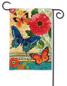 Butterfly Ballad Garden Flag