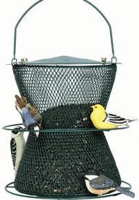 Green Hourglass Bird Feeder