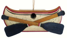 Rustic Canoe Birdhouse
