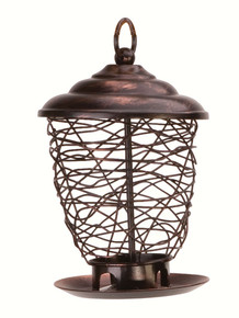 Twig Weave Bird Feeder Brown