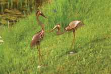 Woven Wire Herons (Set of 2)