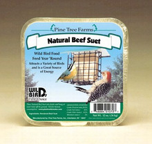 12 oz Natural Beef Suet Cake