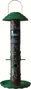 18 inch Tube Feeder Poly Green