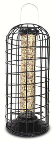 Peanut Feeder with Squirrel Blocking Cage