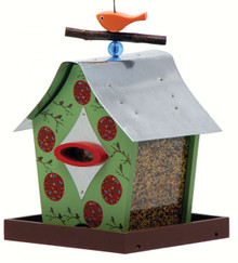 Retro Chic Feeder Peaceful Shack