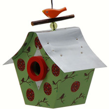 Retro Bird House Peaceful Shack