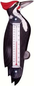 Woodpecker Small Window Thermometer