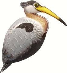 Heron Birdhouse