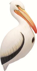 Birdhouse Pelican White