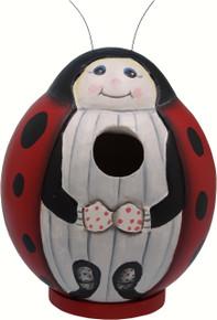 Ladybug Gord-O Birdhouse