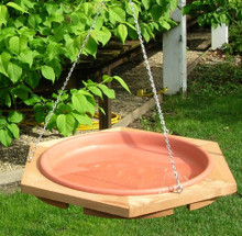 Classic 17 Hanging Bird Bath