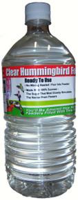 1 Liter (33.8 oz) Clear RTU Hum. Nectar