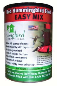 24 oz Red Hummingbird Nectar All Natural- No Dyes