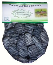 Cannonball River Rock Bird Bath Fillers