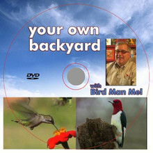 Mel's Backyard Birding Tips DVD