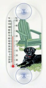 Black Lab Thermometer