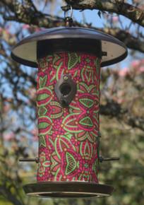 Fuchsia Bird Feeder