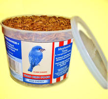 Value Tub Dried Mealworms (avg. count 10,000) (must order 6)