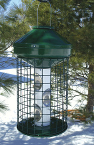 3 Gallon Wire Cage Mixed Seed Feeder