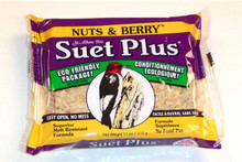 Nuts and Berry Blend 11 oz Suet Cake + Freight West of Rockies Only