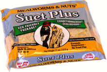 Mealworms and Nuts Suet Cake