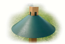 Green 20 in. 4x4 Mount Baffle