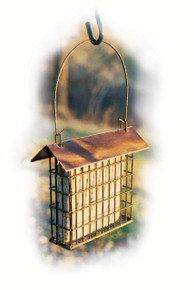 Copper Top Single Suet Cage