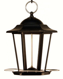 Black Carriage Lantern Feeder