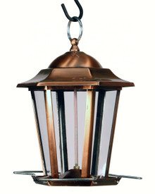 Copper Carriage Lantern Feeder