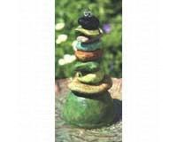 Pebbles Cast Aluminum Dripper Fountain