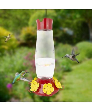 48 oz, top filling hummingbird feeder