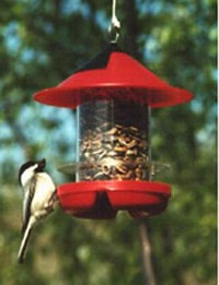 Beck's Chick. Feeder RED 8/cs