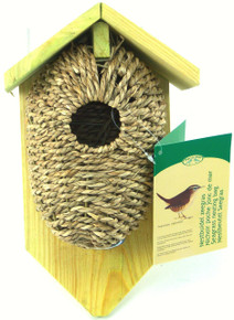 Bird Nest Pocket Sea Grass with roof