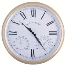 Metal Outdoor Clock Large