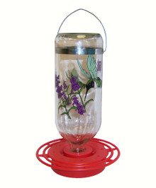 Hummingbird Feeder 32 oz Black Chinned Bulk