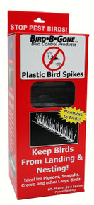 Plastic Bird Spikes 5 in to 6 ft