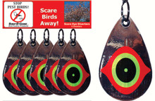 Scare Eye Diverters set of 5