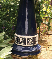 Cobalt Blue Glaze Pedestal Only (+ FRT)