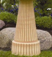 Loam Brown Pedestal Only (+ FRT)