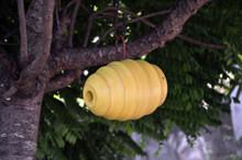 Bee Hive Yellow Birdhouse