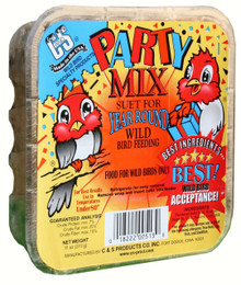 11 oz. Party Mix Suet +Frt