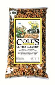 Critter Munchies 20 lbs. + Frt