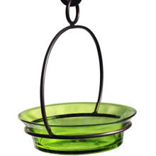 Lime Cuban Bowl Birdbath
