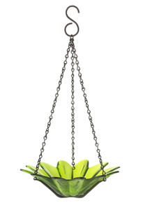 8 inch Daisy Birdfeeder Lime