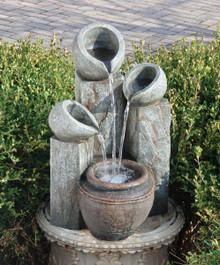 Hadrian's Villa Four Urn Fountain