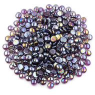 Purple Luster Glass Gems